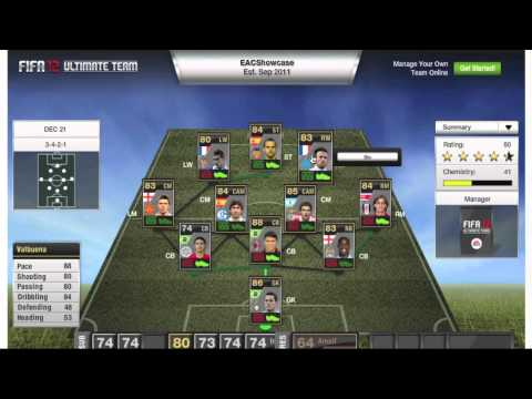 FiFA 12 : Team of the Week ft. Carrick, Thiago Silva, Cesar