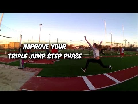 Improve Your Triple Jump Step Phase Vlog