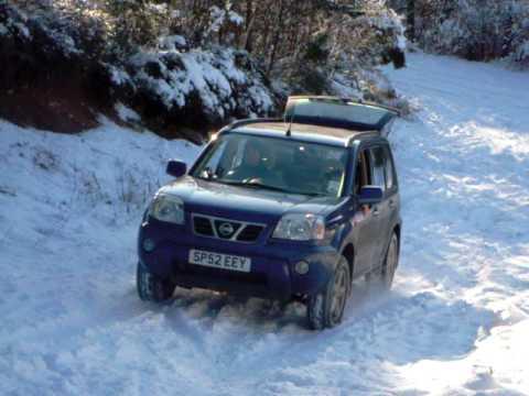 Lyall the uphill Scottish skier (Not gardener!)