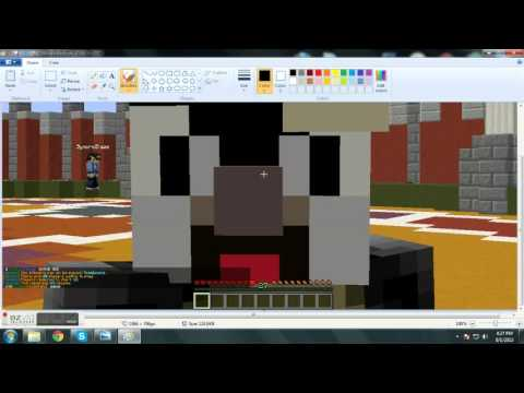 How to make a minecraft screenshot your desktop background.