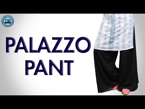 Palazzo Pant | Cutting & Stitching (English) | BST