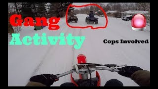 Snow Riding (With The Gang)