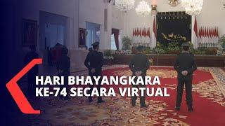 HUT Bhayangkara ke-74 Dilakukan Secara Virtual
