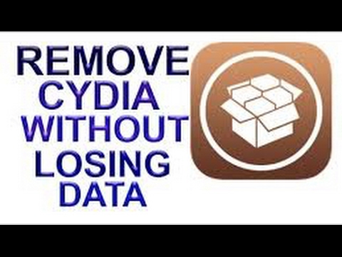 How to safely unjailbreak ios 10-10.2 /remove cydia without updating or losing any data