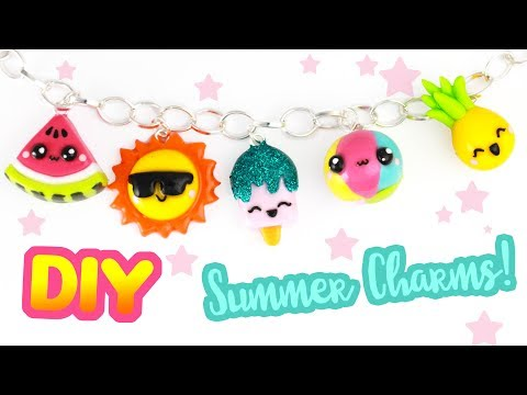 5 DIY SUMMER CHARMs! | KAWAII FRIDAY -Summer Special!