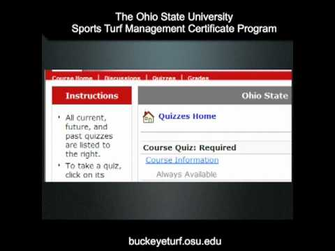 How to Navigate OSU's Sports Turf Management Course