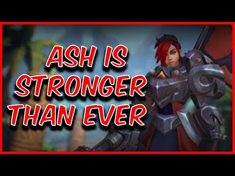 Ash is STRONGER than ever   Paladins OB 62 Gameplay