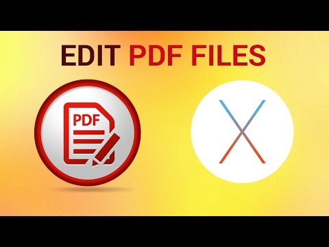How To Edit PDF on Mac