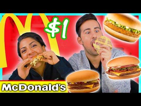 McDonald's Value Menu Taste Test!