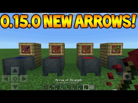 0150 New Arrows Minecraft Pocket Edition 0150 Tipped Arrows Full Guid