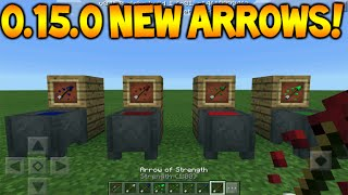 0150 New Arrows Minecraft Pocket Edition 0150 Tipped Arrows Full Guid