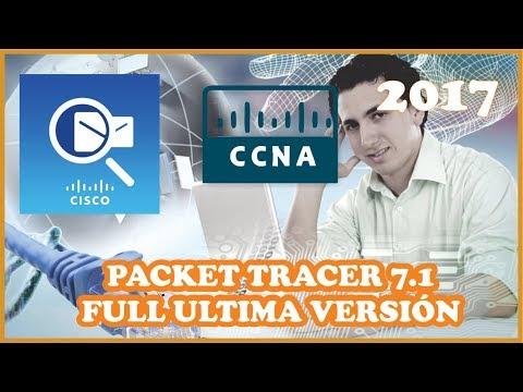 Descargar e Instalar Packet Tracer 7.1 Ultima Versión 2017