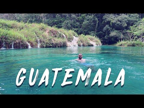 Swimming The Jungle Pools of Semuc Champey   Guatemala Vlog 7