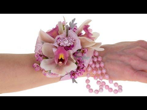 Orchid Blush Wrist Corsage