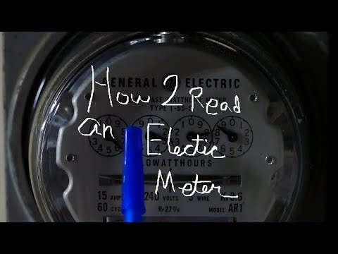 How to read an Electric Meter
