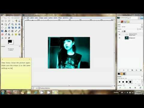 Tutorial: GIMP 3D Effect (Anaglyph)