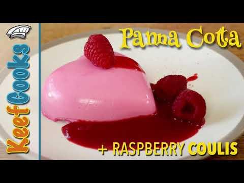 Panna Cotta | Valentines Day | Blancmange