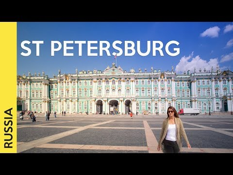 ST PETERSBURG, RUSSIA tour: the most famous attractions (Vlog 2)