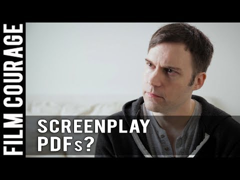 Should Screenwriters Send Out PDFs Of Their Screenplays? by Shawn Christensen