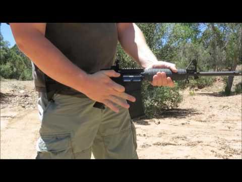 How to Bump Fire an AR-15/M4.