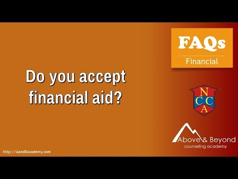 Do You Accept Financial Aid?