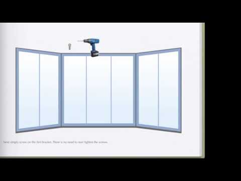 How To Install Bay Window Curtain Rods