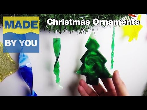 Christmas Ornaments Tutorial Using Casting Resin