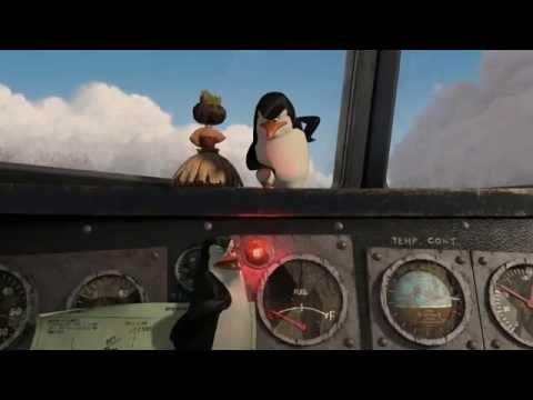 Madagascar 2 : Air Penguin (Crash Landing Scene)