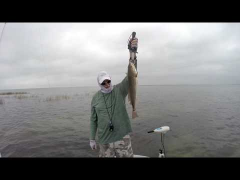 Catching Redfish At Rockport Texas