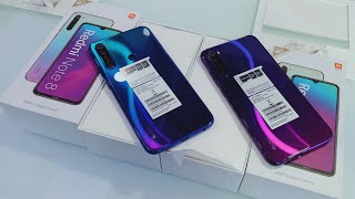 Redmi Note 8 Cosmic purple Unboxing vs Redmi Note 8 Neptune Blue Unboxing , Review \u0026 First Look