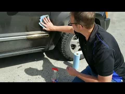 How to get Road Tar off your Vehicle