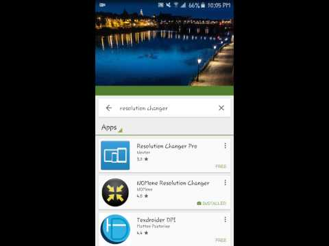 Change Screen Resolution in Android to Boost Gaming Performance