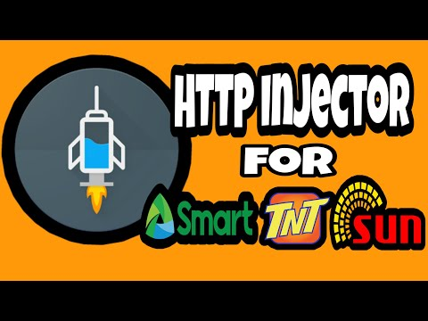 FREE INTERNET in HTTP INJECTOR for SMART. TNT and SUN (no capping)