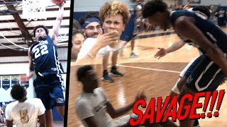 BANGED ON HIM Then YELLED IN HIS FACE! Vernon Carey Jr Goes CRAZY! USchool SHUT GYM DOWN v Calvary