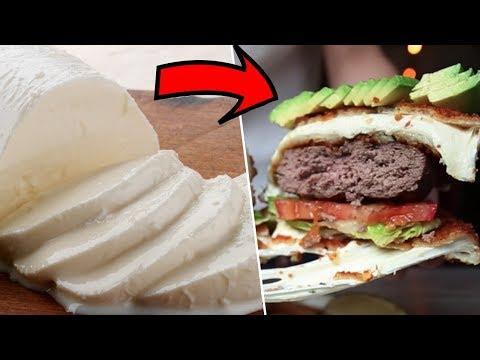 Fried Mozzarella Burger- Restaurant Test #2