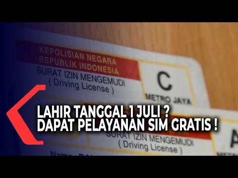 Lahir 1 Juli, Dapat Pelayanan SIM Gratis di Hari Bhayangkara