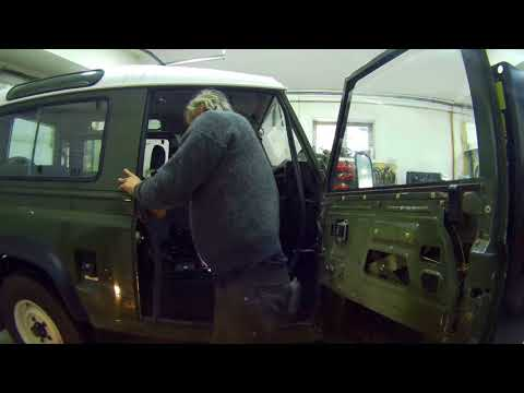 Defender door seals – how to fit them properly without cutting