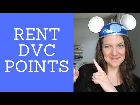 SAVE MONEY AT DISNEY -  HOW TO RENT DVC POINTS