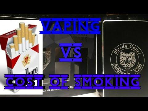 Is Vaping cheaper than smoking.
