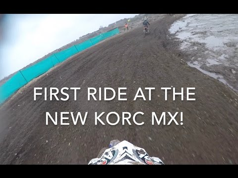 NEW KORC MX MOTOCROSS TRACK PRACTICE | 2017 YZ250F | GOPRO