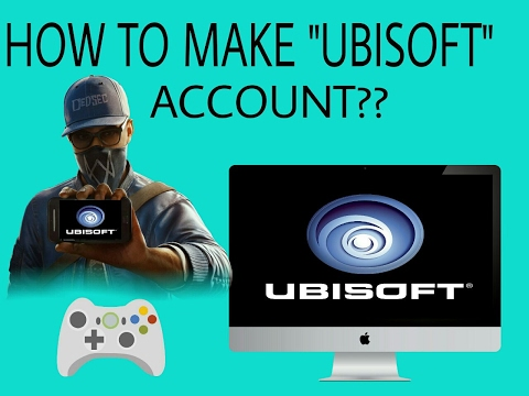 How to create a ubisoft account??