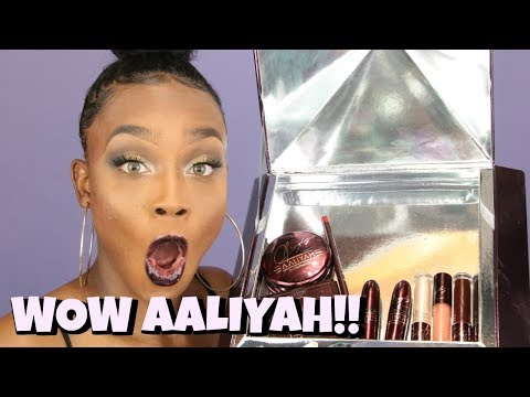MAC x Aaliyah Makeup Collection | Swatches, Try-On, Review