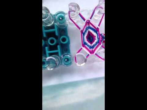 How to make the crochet hook grip on the rainbow loom