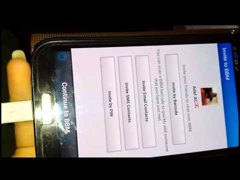 BBM offically on android 10/21/2013 100% WORKS (HOW TO DOWNLOAD)