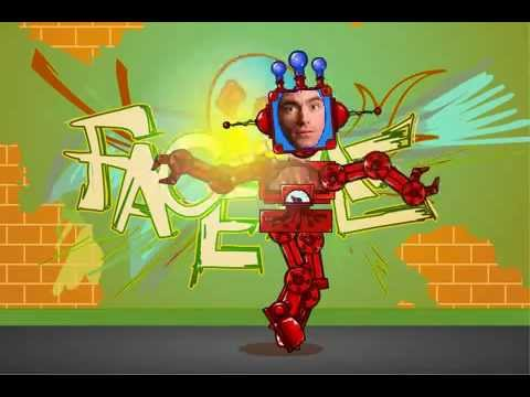 FaceMe Video Booth - Dancing Robot
