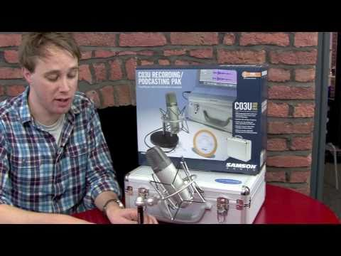 Samson C03U USB Microphone Review