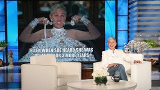Ellen Celebrates 3 More Years During 'Thank GIF It's Friday'