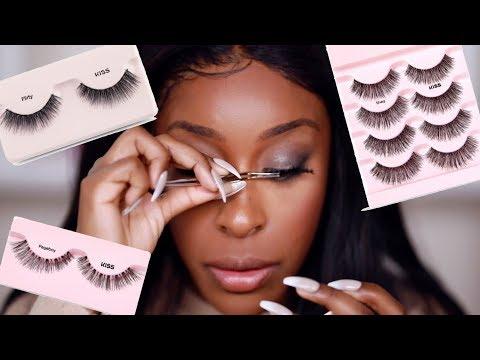 Viral Eyelash Hack TESTED! DOES IT WORK THO?!! | Jackie Aina