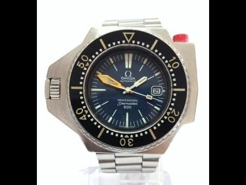 Vintage 1970's Omega Seamaster Ploprof 600m Watch