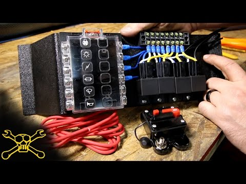 How To Make A Power Relay / Fuse Block | Automotive Wiring